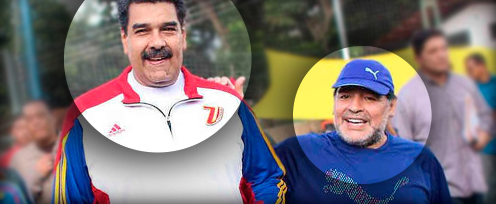 The anti-imperialist policies of Maradona
