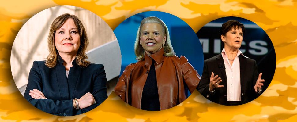 Conozca a las mujeres CEO en las empresas Fortune 500
