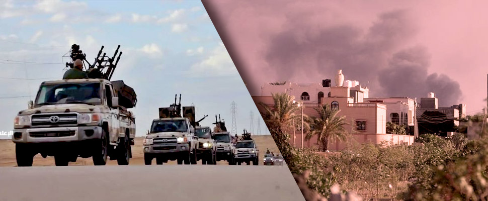The war in Libya is about to explode