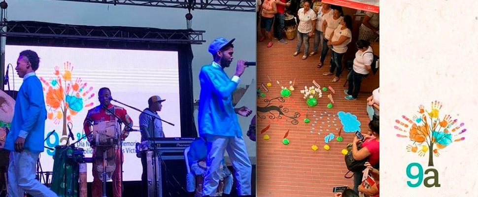 La agridulce celebración de la víctimas del conflicto colombiano