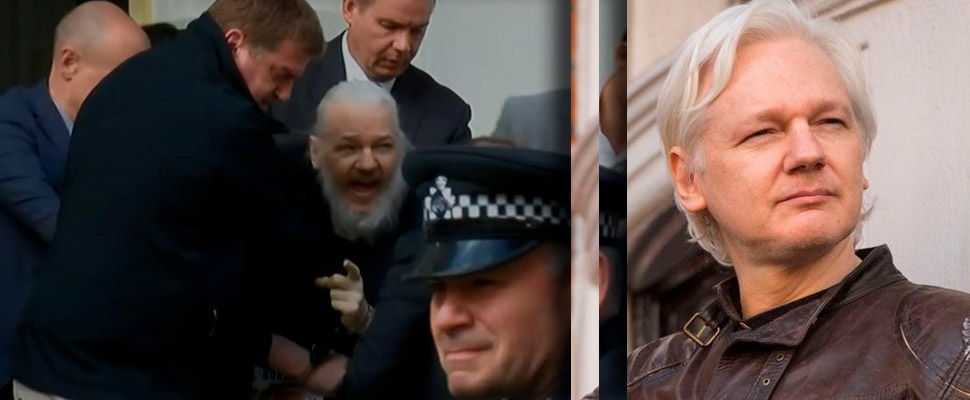 No more asylum: Julian Assange is arrested in London