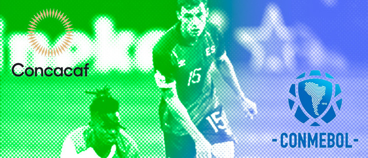 Concacaf and Conmebol are already competing 'side-by-side'