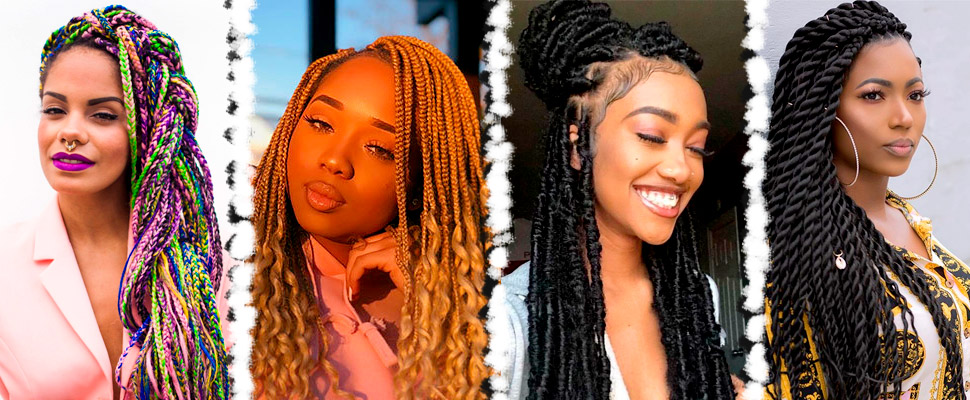 Caribbean braids: styles you should know