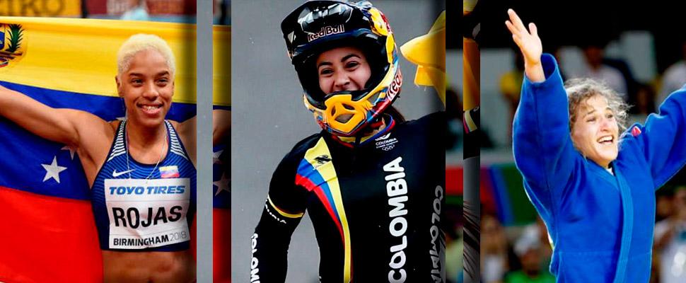 ¡Poder femenino! 5 mujeres que sueñan con la gloria olímpica