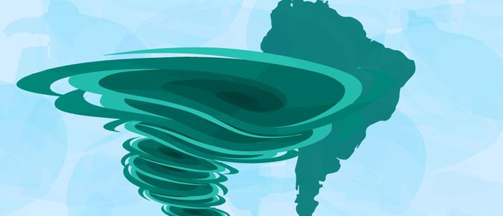 ¿Por qué Sudamérica está libre de huracanes?