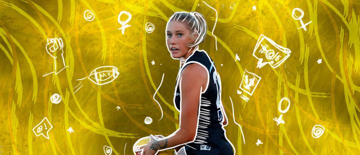 Tayla Harris: la deportista que sentó un precedente en contra del acoso sexual