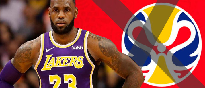 LeBron James and his refusal to attend the World Cup in China with the United States