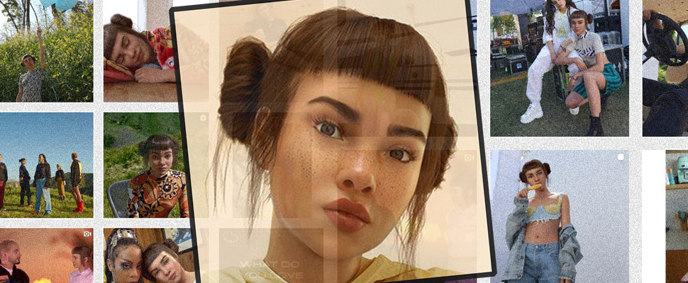 Lil Miquela: the influencer that makes our notion of reality tremble