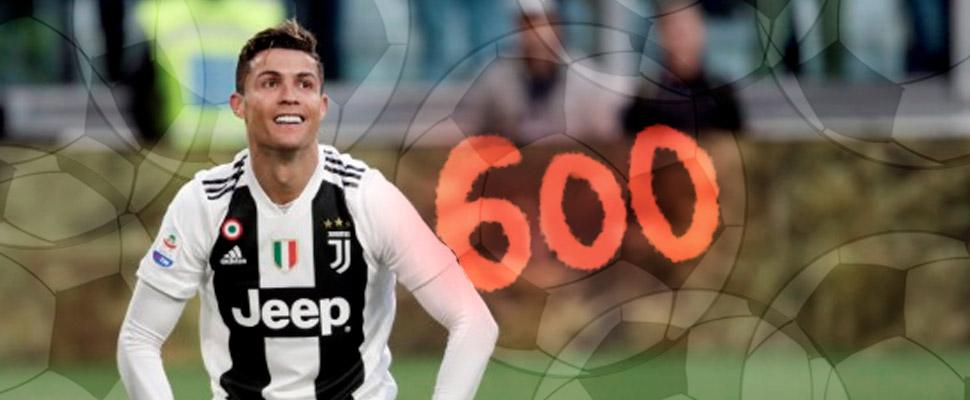 Cristiano Ronaldo marca el gol número 600 en clubes