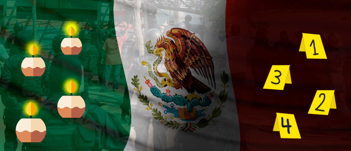 What is AMLO's solution to the devastating violence in Mexico?