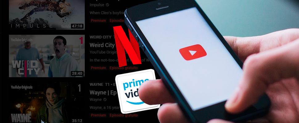 YouTube tira la toalla y deja la competencia contra Amazon y Netflix