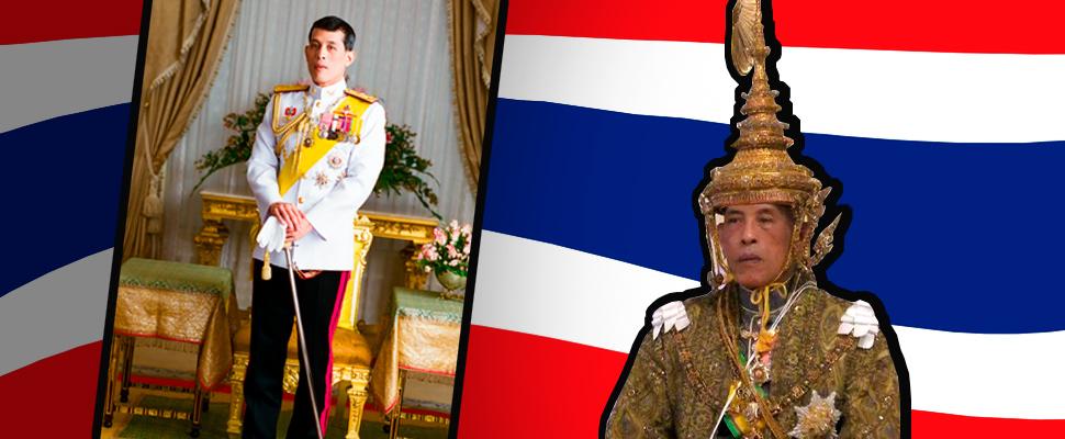 Tailandia y su excéntrica figura de rey