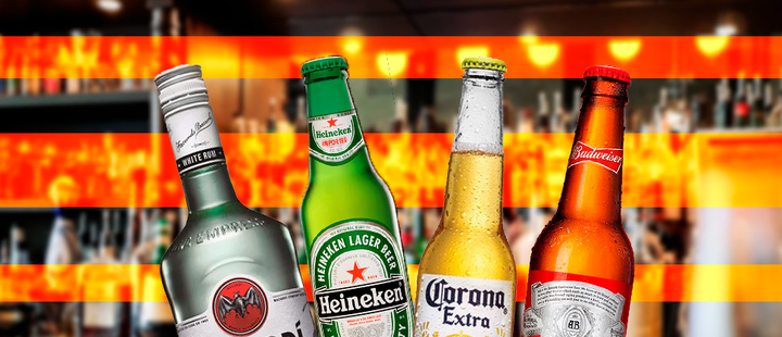 These are the most valuable brands of alcoholic beverages in Latin America