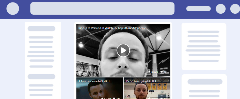 ¡Locura en Facebook! la divertida serie con Stephen Curry de los Golden State Warriors