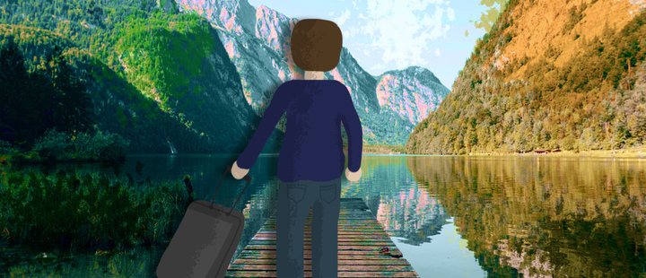 These are 5 benefits of traveling alone