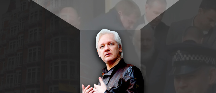 Julian Assange: entre la espada y la pared