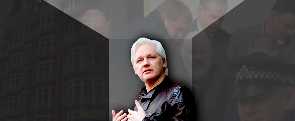 Julian Assange: between a rock and a hard place