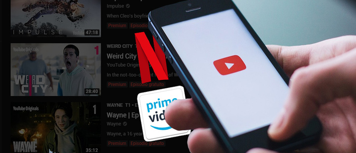YouTube quits the competition against Amazon and Netflix