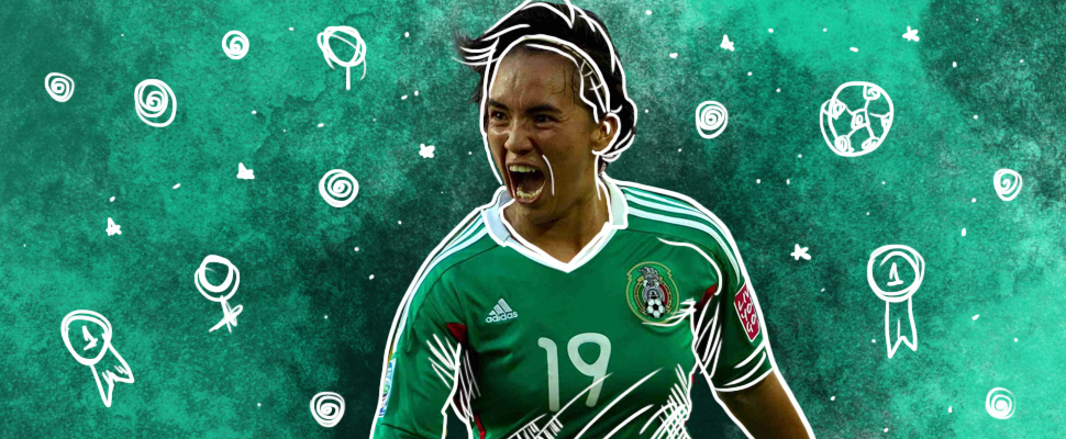A Mexican woman won the FIFA award with the best goal of the World Cup