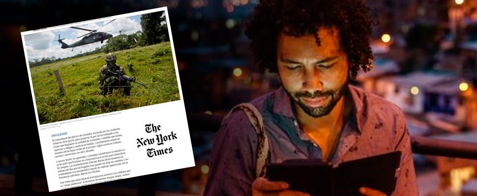 ¿Persecución política? Periodista del New York Times escapó de Colombia tras acusaciones