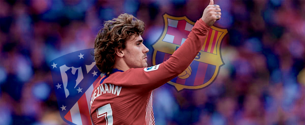 The colophon of a novel called Antoine Griezmann with FC Barcelona