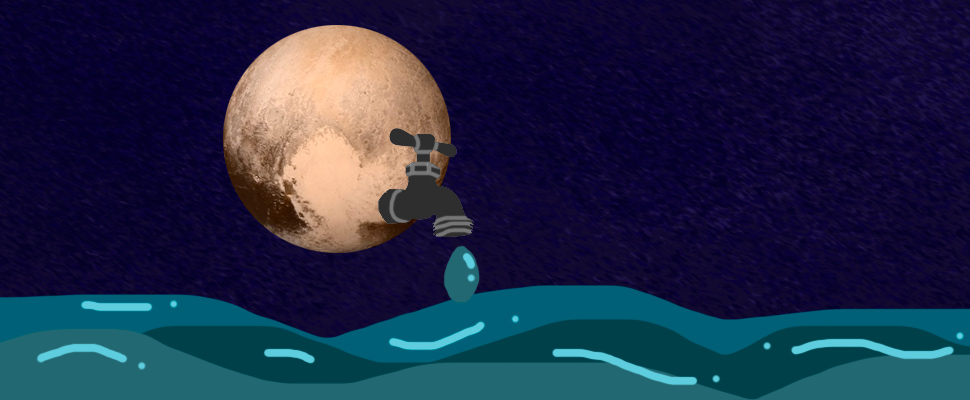 Did you know that there might be water in Pluto?