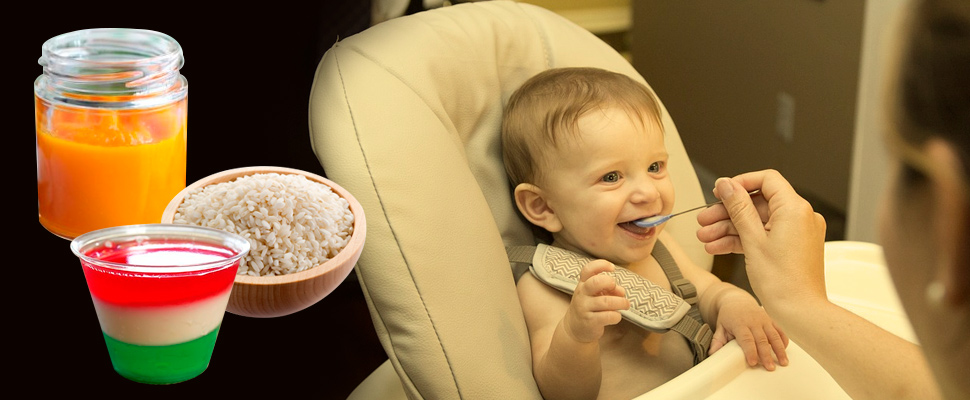 What should be the first meals for your baby?