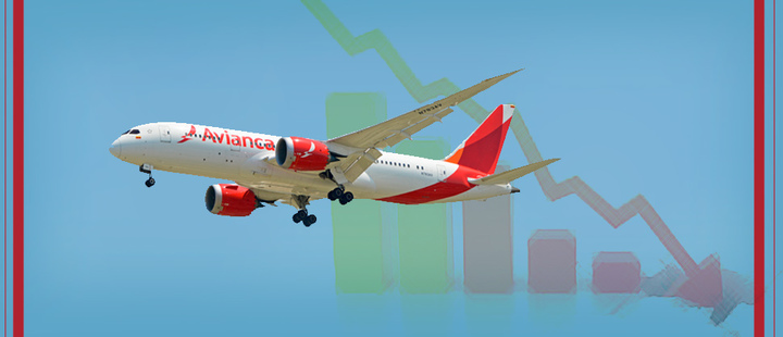 What is the origin of Avianca's dangerous crisis?