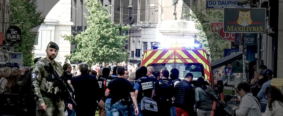 Atentado en Lyon deja 13 heridos