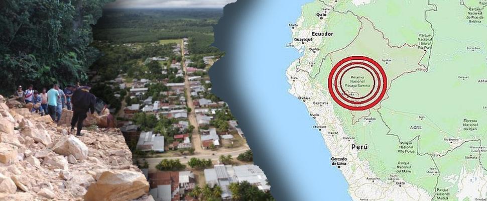 Fuerte sismo en el amazonas peruano
