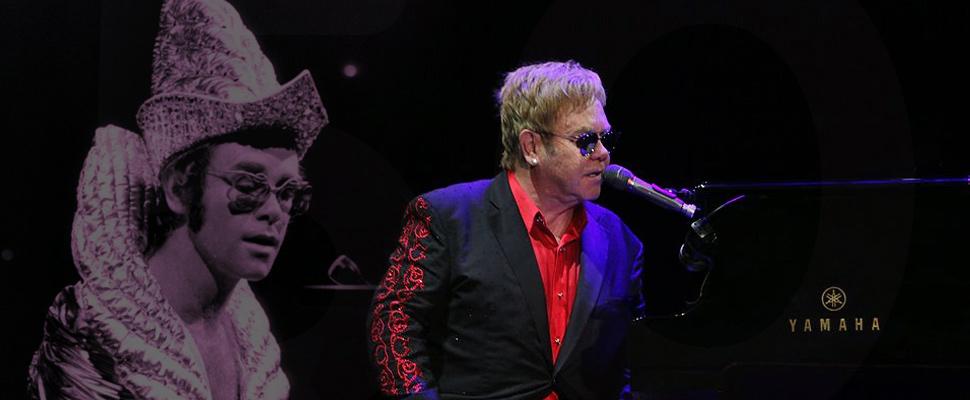 5 décadas de Elton John