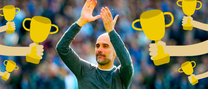 Guardiola entered the list of the most winning managers. Who else accompanies him?