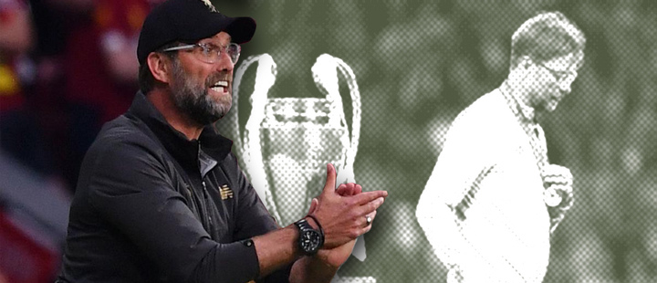 The 7 finals that Klopp lost before winning the Champions League