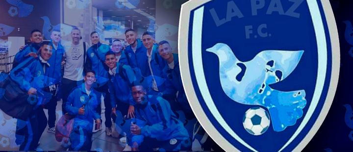 Escudo de La Paz F.C