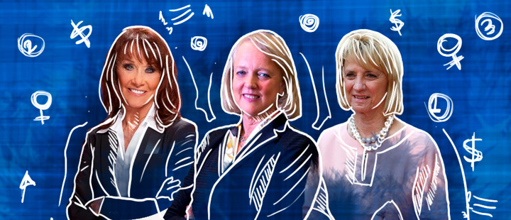 Diane Hendricks - Meg Whitman - Marian Ilitch
