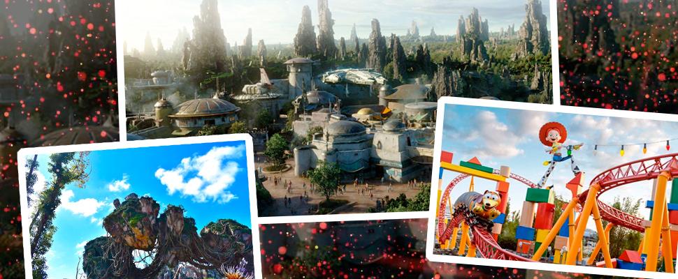 Star Wars y otros mundos de Disney