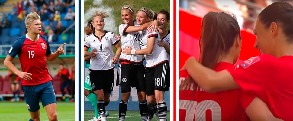 The greatest thrashings in women's and U-20 soccer world championships