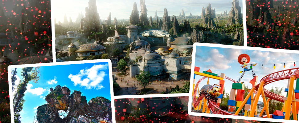 Star Wars and other Disney worlds