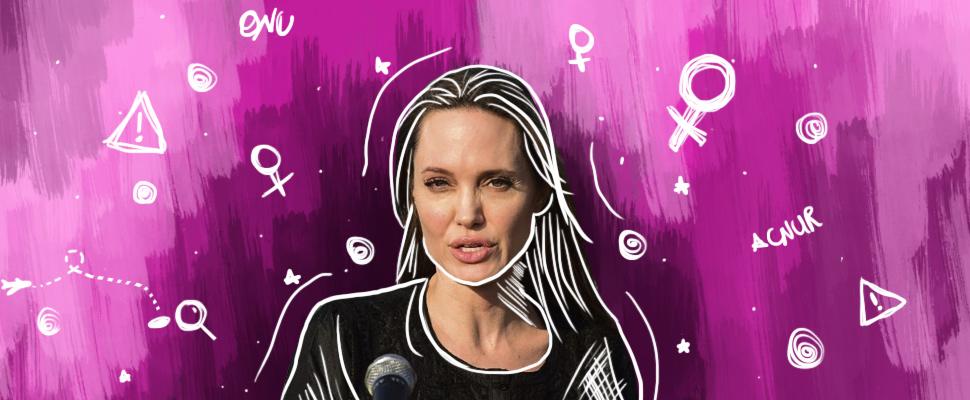 Angelina Jolie y otras 3 celebridades que dedican su vida a mejorar el mundo