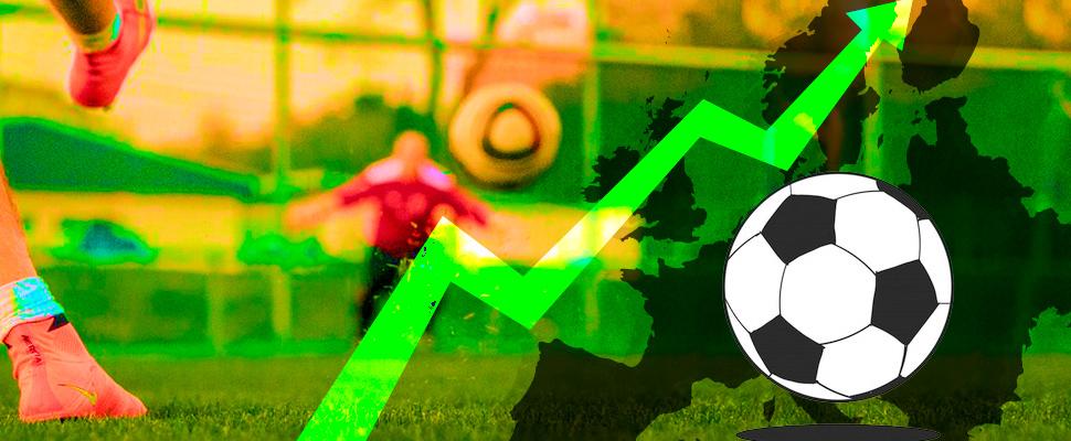 Europa y su mayor crecimiento frente al fútbol latinoamericano últimamente