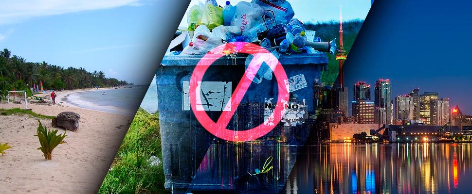 Adiós al plástico en San Andrés y Canadá