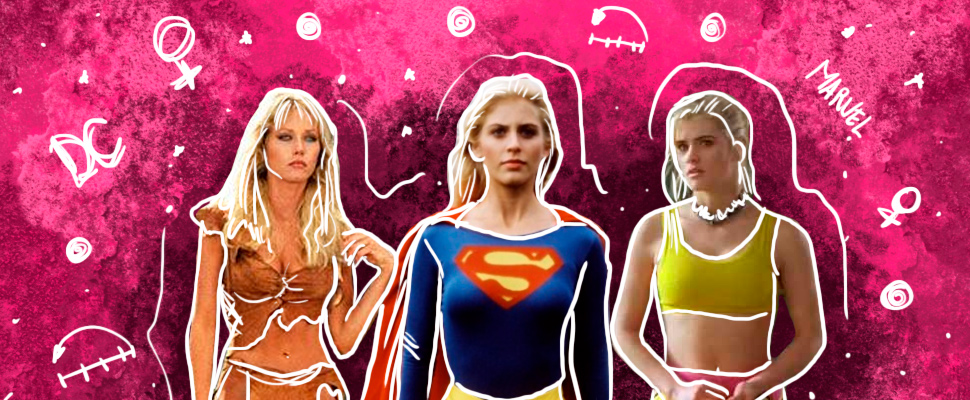 3 superheroines before the Marvel and DC sagas