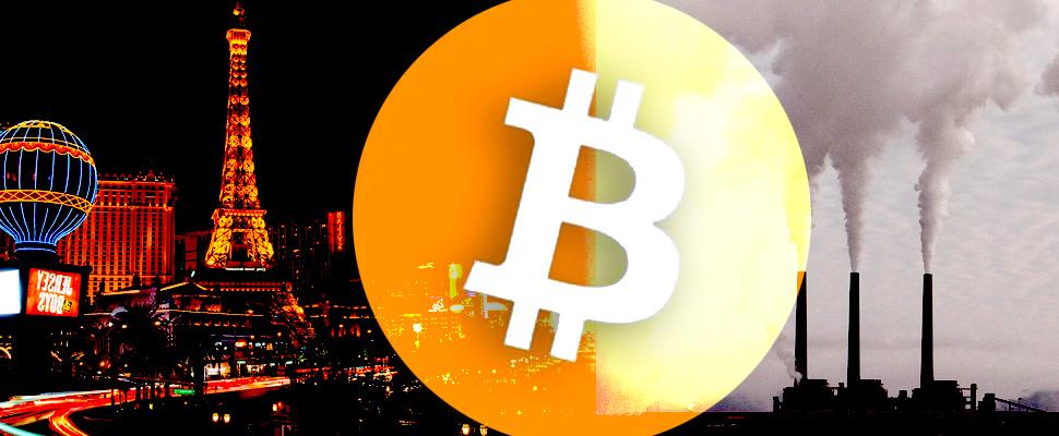 Bitcoin causa emisiones de CO2 como las de Las Vegas