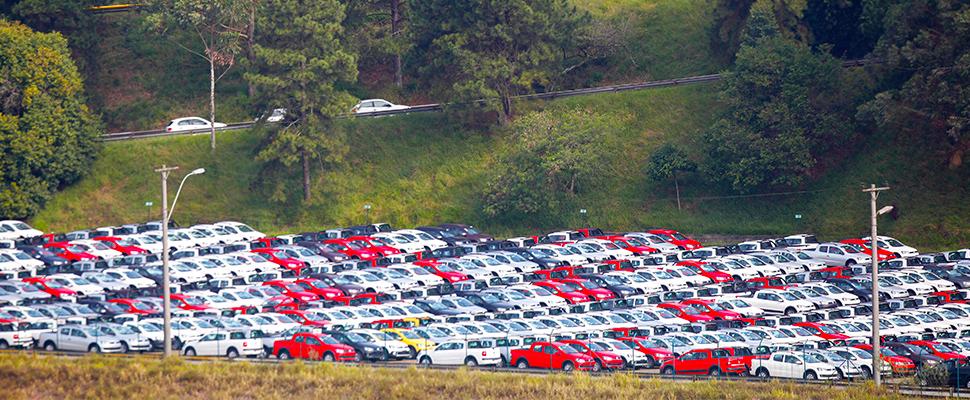 Muestra de producción automotriz en Brasil.