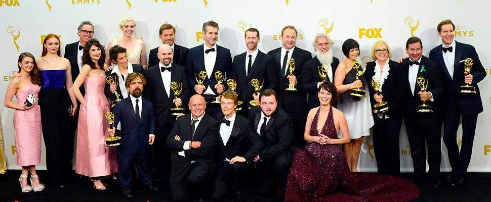 Vista del elenco de 'Game of Thrones'.