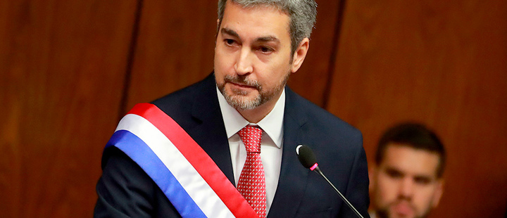 Presidente paraguayo termina su primer año con 69% de desaprobación