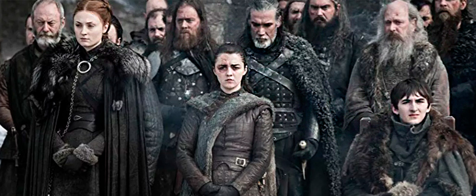 Scene from the series 'Game of Thrones'