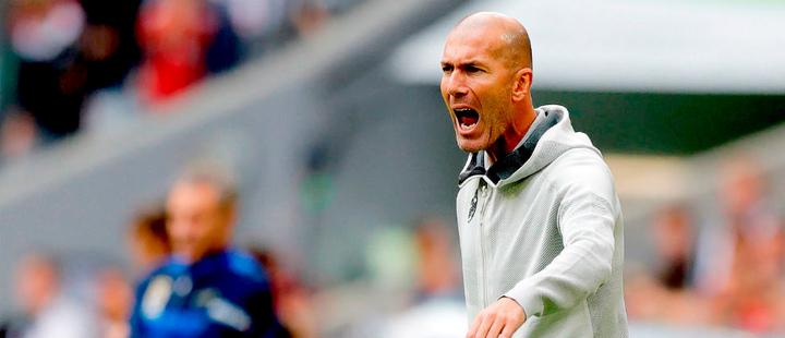 Zidane listo para contar con James y Bale en el inicio de La Liga