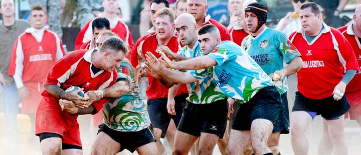 Rugby: el clima es una prueba para los jugadores en la Copa Mundial
