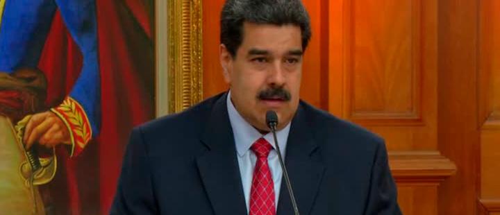 """Nicolás Maduro dice que """"desde hace meses"""" hay contactos con funcionarios de EEUU"""